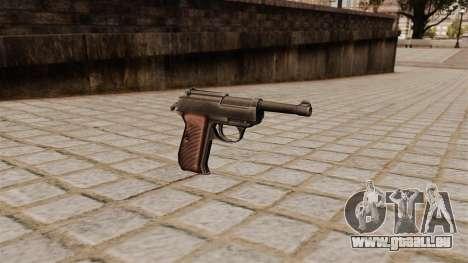 Walther P38 Pistole für GTA 4