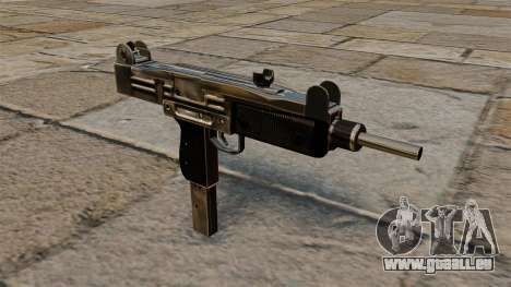 Pistolet mitrailleur Uzi pour GTA 4