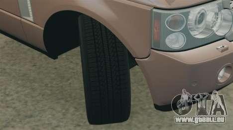 Range Rover TDV8 Vogue pour GTA 4 est un côté