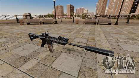 Automatique carabine M4A1 SOPMOD pour GTA 4