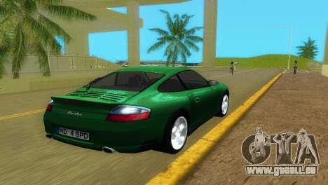 Porsche 911 Turbo für GTA Vice City zurück linke Ansicht