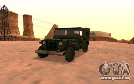 Willys MB V ju2 für GTA San Andreas
