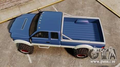 GTA V Vapid Sandking SWB 4500 für GTA 4 rechte Ansicht