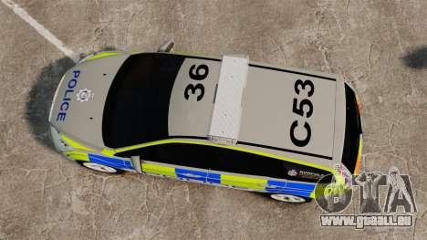 Ford Focus Estate Norfolk Constabulary [ELS] pour GTA 4 est un droit