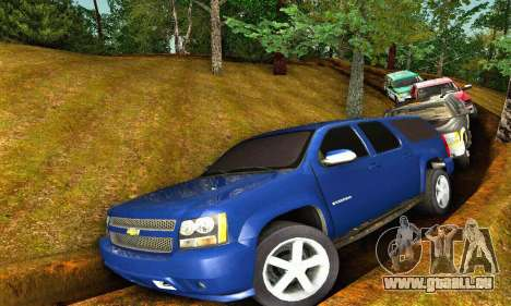 Chevrolet Suburban 2008 für GTA San Andreas
