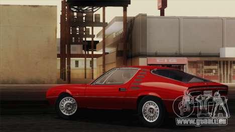 Alfa Romeo Montreal (105) 1970 für GTA San Andreas Innenansicht