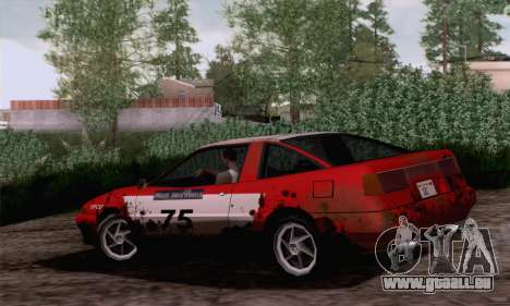 Uranus Rally Edition für GTA San Andreas linke Ansicht