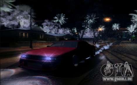 Tuned Elegy pour GTA San Andreas sur la vue arrière gauche