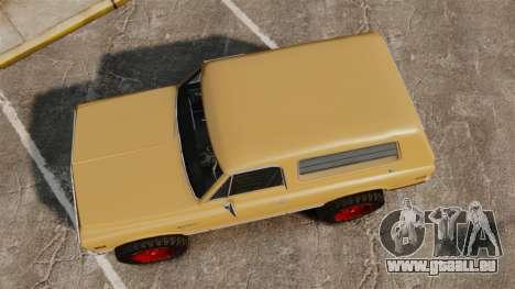 Chevrolet Blazer K5 1972 pour GTA 4 est un droit