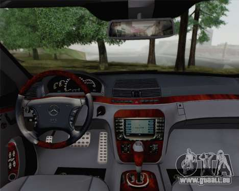 Mercedes-Benz AMG S65 2004 für GTA San Andreas rechten Ansicht