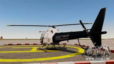 GTA V Police Maverick für GTA 4 linke Ansicht