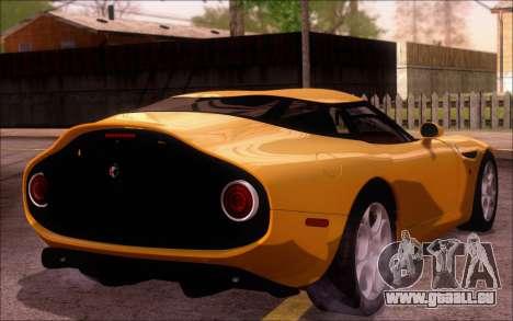 Alfa Romeo TZ3 2011 pour GTA San Andreas laissé vue