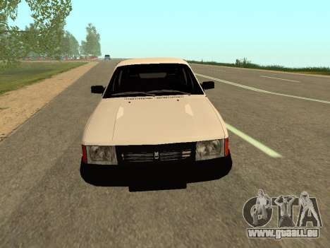 Moskvich 2141 für GTA San Andreas linke Ansicht
