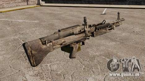 Mitrailleuse polyvalente M60E4 pour GTA 4 secondes d'écran