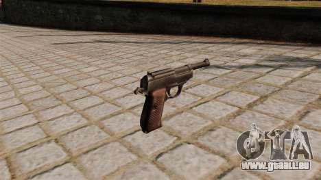 Walther P38 Pistole für GTA 4 Sekunden Bildschirm