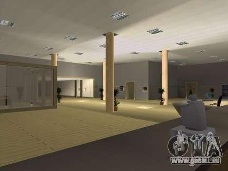 Nouvelles textures intérieur Mairie pour GTA San Andreas cinquième écran