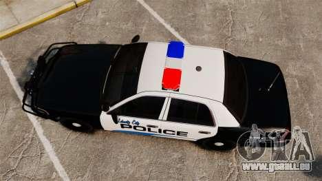 Ford Crown Victoria Police Interceptor [ELS] pour GTA 4 est un droit