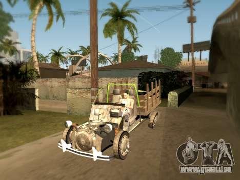 Citroen 2CV (Diana) pour GTA San Andreas laissé vue