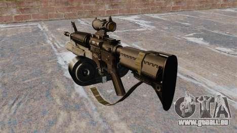 Automatique carabine M4 C-Mag pour GTA 4 secondes d'écran