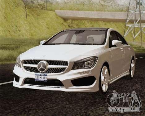 Mercedes-Benz CLA 250 2013 für GTA San Andreas zurück linke Ansicht