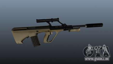 Steyr AUG Selbstladegewehr für GTA 4 dritte Screenshot