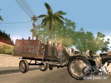 Citroen 2CV (Diana) für GTA San Andreas