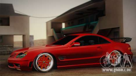 Mercedes-Benz SL65 AMG Racing Edition pour GTA San Andreas
