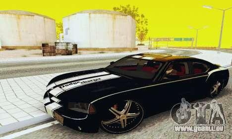 Dodge Charger DUB pour GTA San Andreas laissé vue