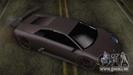 Lamborghini Murcielago GT Carbone pour GTA San Andreas vue de droite