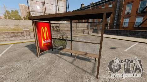 Neue Plakate an Bushaltestellen für GTA 4 dritte Screenshot
