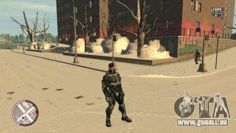 Crysis NanoSuit pour GTA 4 quatrième écran