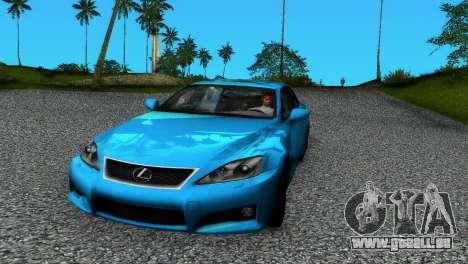 Lexus IS-F pour GTA Vice City
