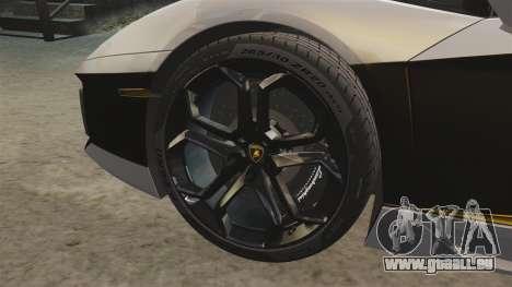 Lamborghini Aventador LP700-4 2012 v2.0 [EPM] pour GTA 4 est une vue de l'intérieur