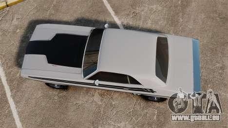 Dodge Challenger 1971 v1 pour GTA 4 est un droit