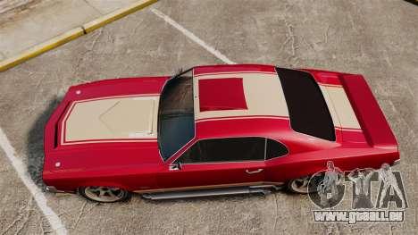 Sabre RS für GTA 4 rechte Ansicht