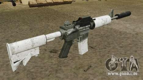 Mise à jour de M4 carabine automatique pour GTA 4 secondes d'écran