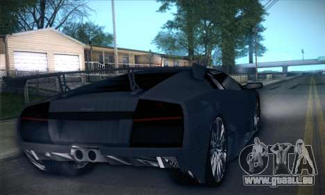 Lamborghini Murcielago GT Carbone für GTA San Andreas Unteransicht