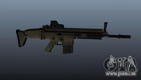 Fusil automatique FN SCAR-H pour GTA 4 troisième écran