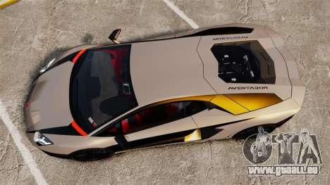 Lamborghini Aventador LP700-4 2012 v2.0 [EPM] pour GTA 4 est un droit