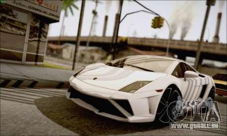 Lamborghini Gallardo LP560-4 2013 pour GTA San Andreas