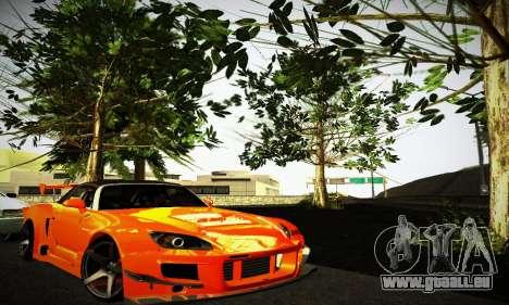 Honda S2000 Amuse GT1 pour GTA San Andreas