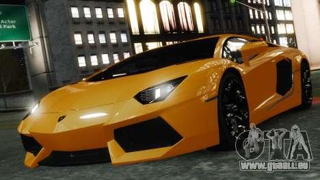 Lamborghini Aventador LP700-4 [EPM] 2012 pour le moteur de GTA 4