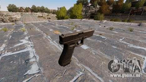 Glock 17 pistolet Self-loading pour GTA 4 secondes d'écran