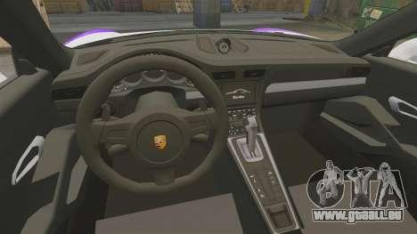 Porsche 911 Turbo 2014 [EPM] America für GTA 4 Innenansicht