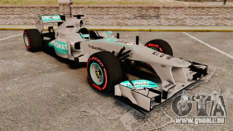 Mercedes AMG F1 W04 v6 pour GTA 4