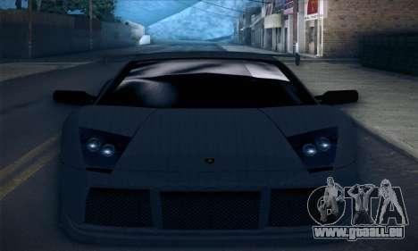 Lamborghini Murcielago GT Carbone pour GTA San Andreas moteur