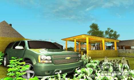 Chevrolet Suburban 2008 für GTA San Andreas Unteransicht