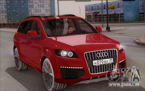 Audi Q7 Winter pour GTA San Andreas