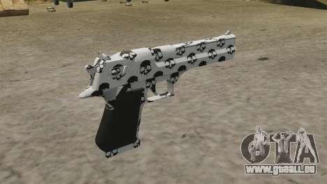 Pistole Desert Eagle Skull für GTA 4 Sekunden Bildschirm