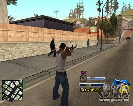 C-HUD by Alex-Castle pour GTA San Andreas deuxième écran